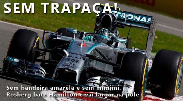 Rosberg pole Canadá